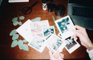 storing photos